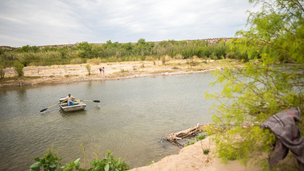crossing the Rio Grande — the simplest way to get to Mexico