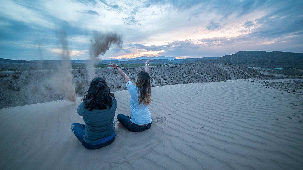 sand dune playground