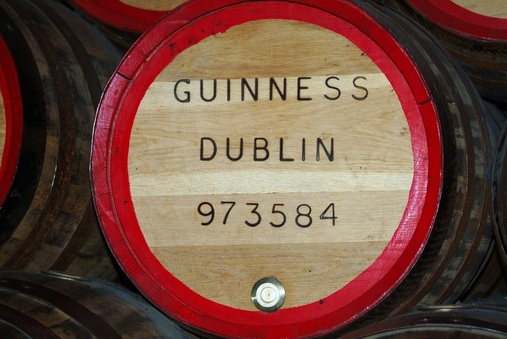 The Guinness Brewery in Dublin is a must see!