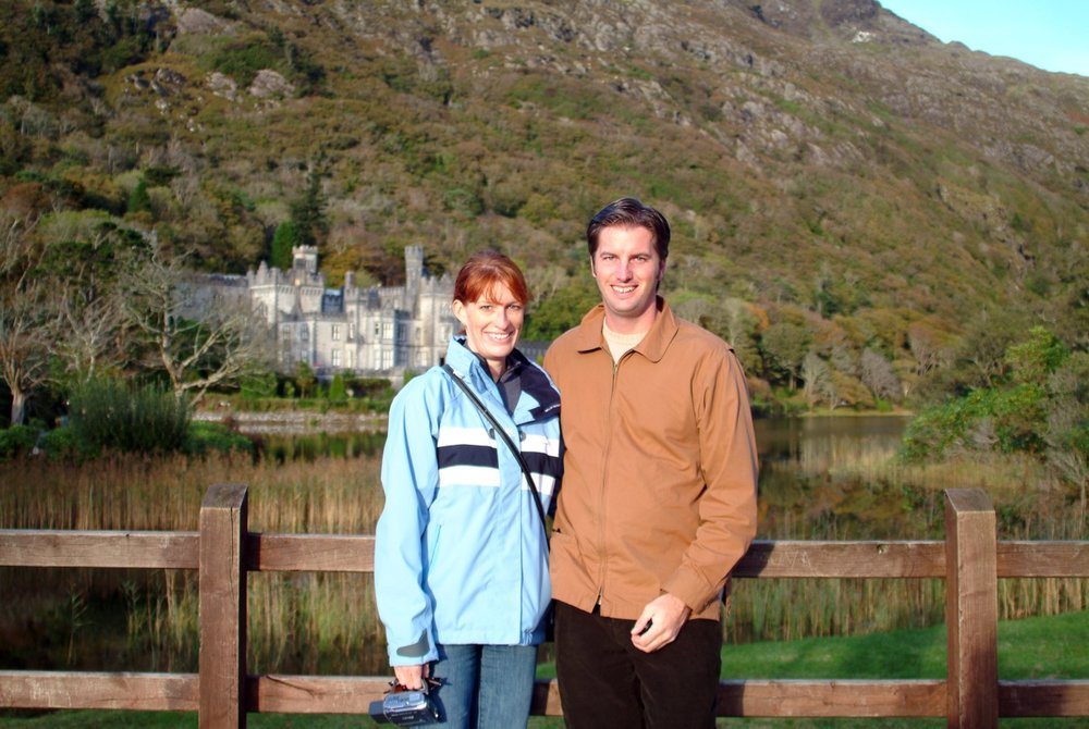 Here we are at Kylemore Abbey