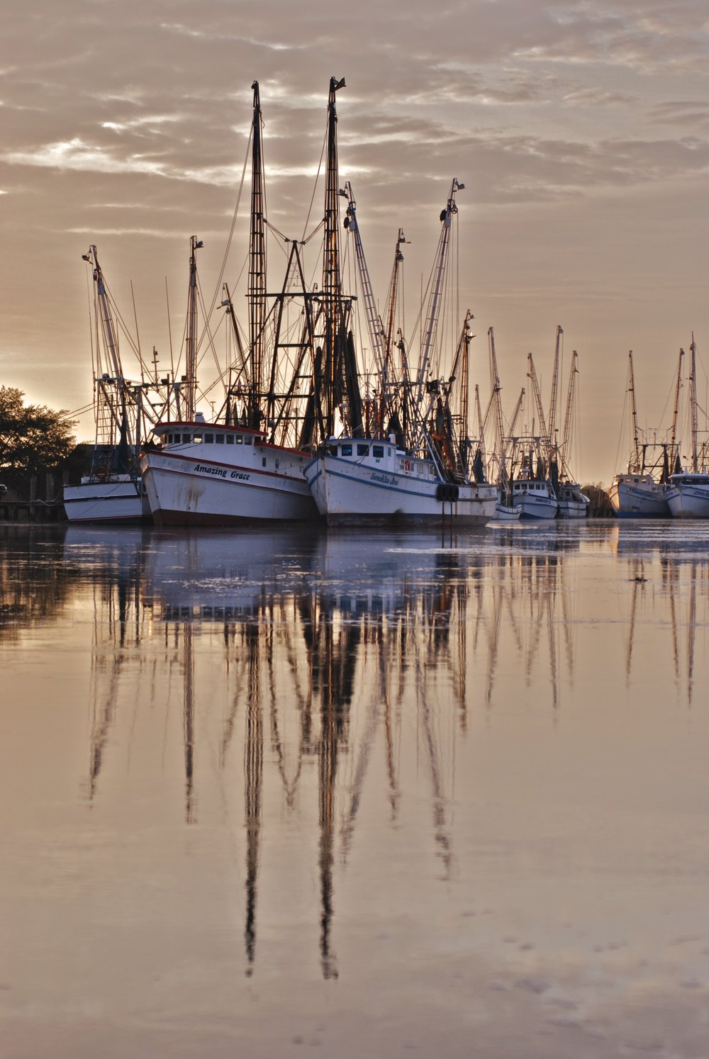 Here's the original from Darien, GA waterfront