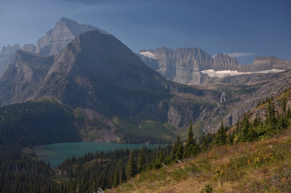 Grinnell Glacier and Grinnell Glacier Lake