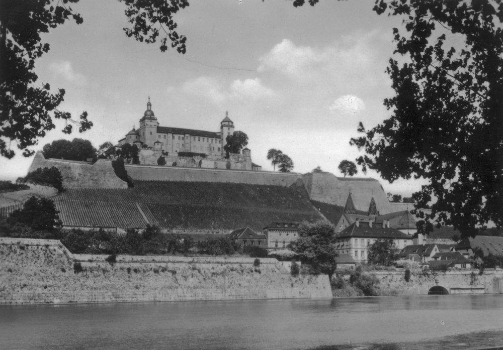 Marienberg Fortress,Würzburg, Germany,1945