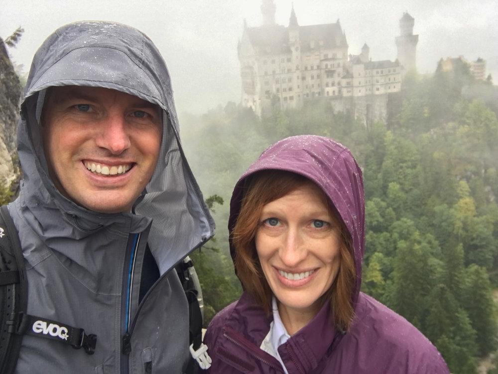 The wet couple…