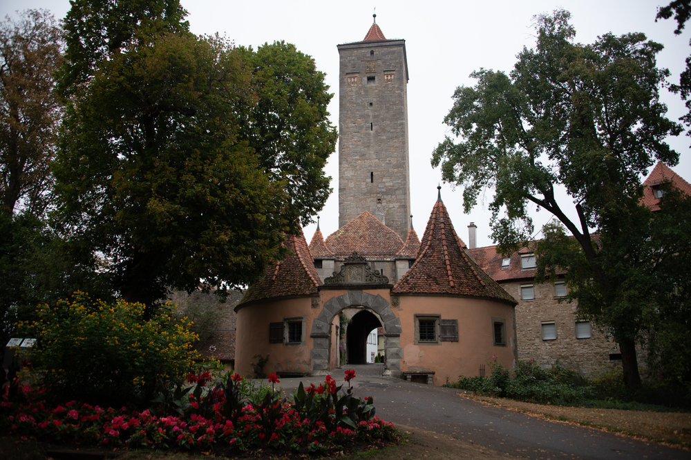 Outside of the Burgtor