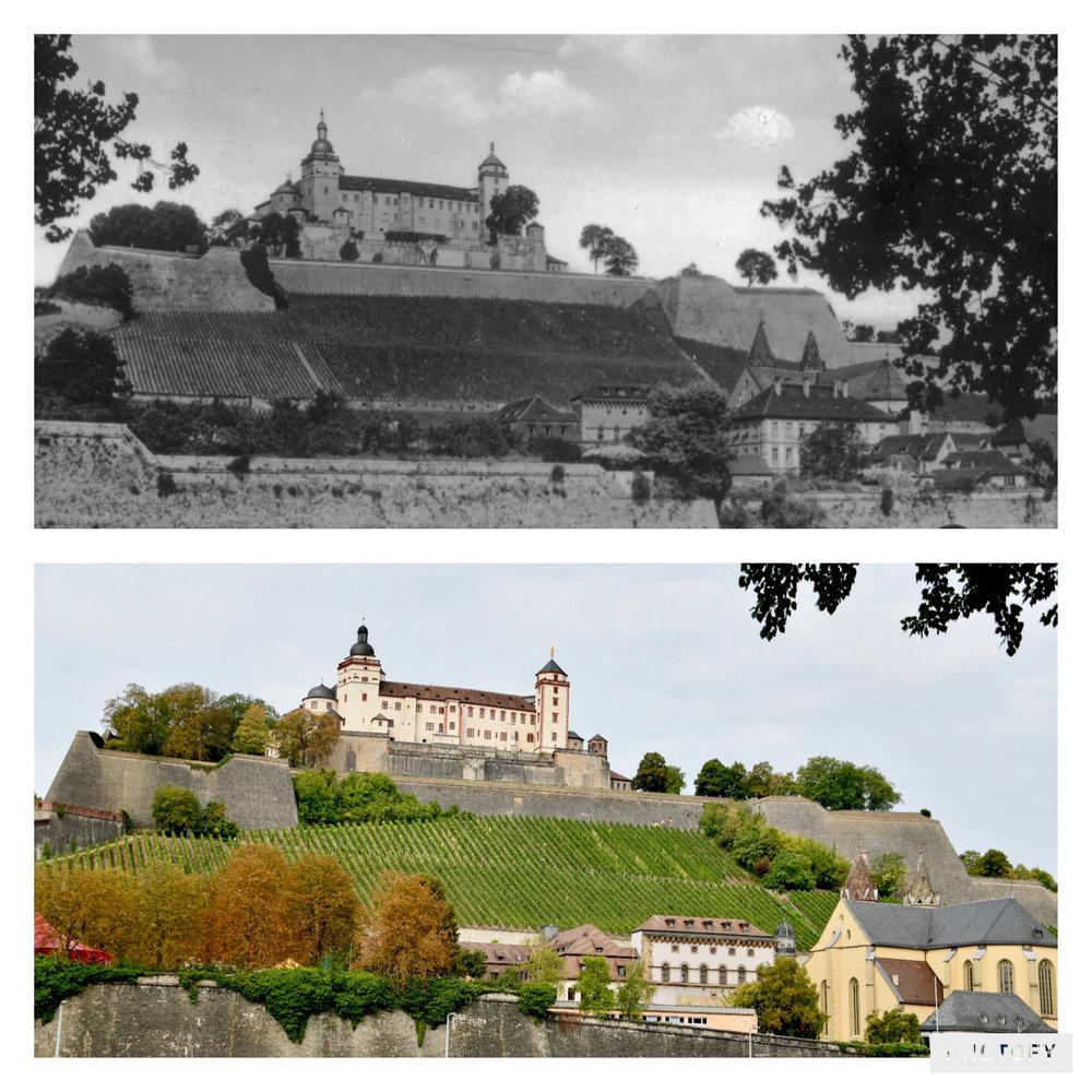 Festung Marienburg in Würzburg
