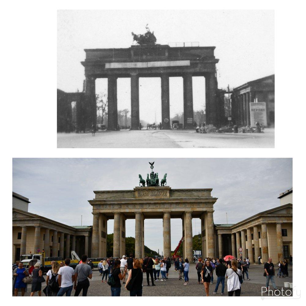 The Brandenburg Gate still stands