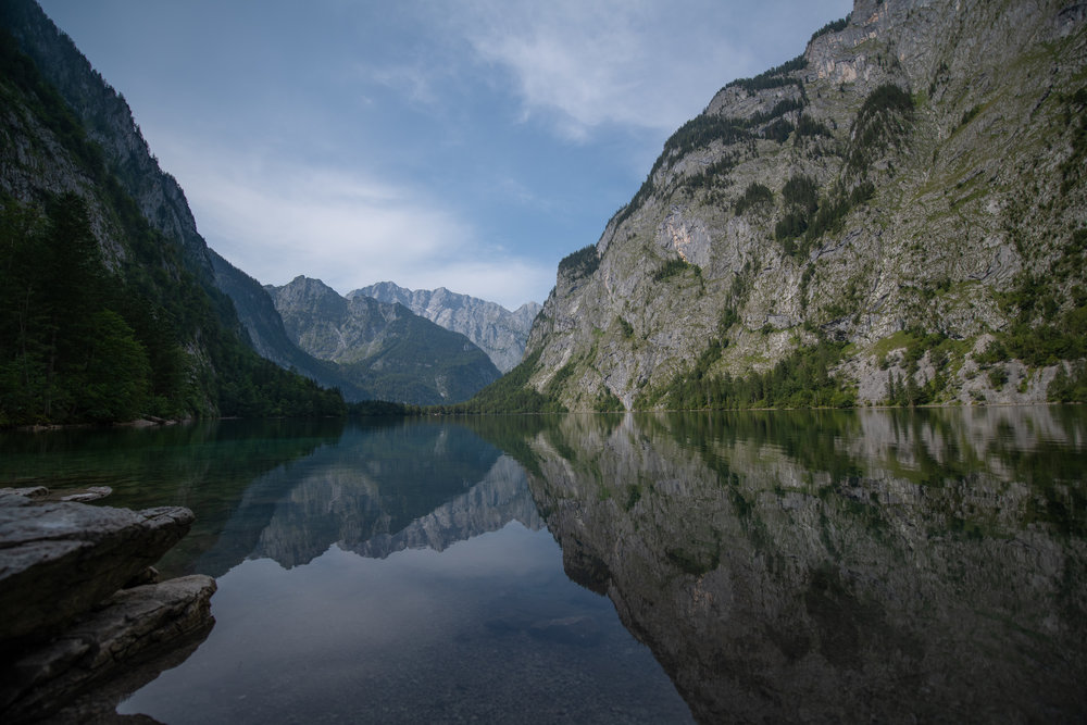 Öbersee, Berechtesgaden National Park, Germany