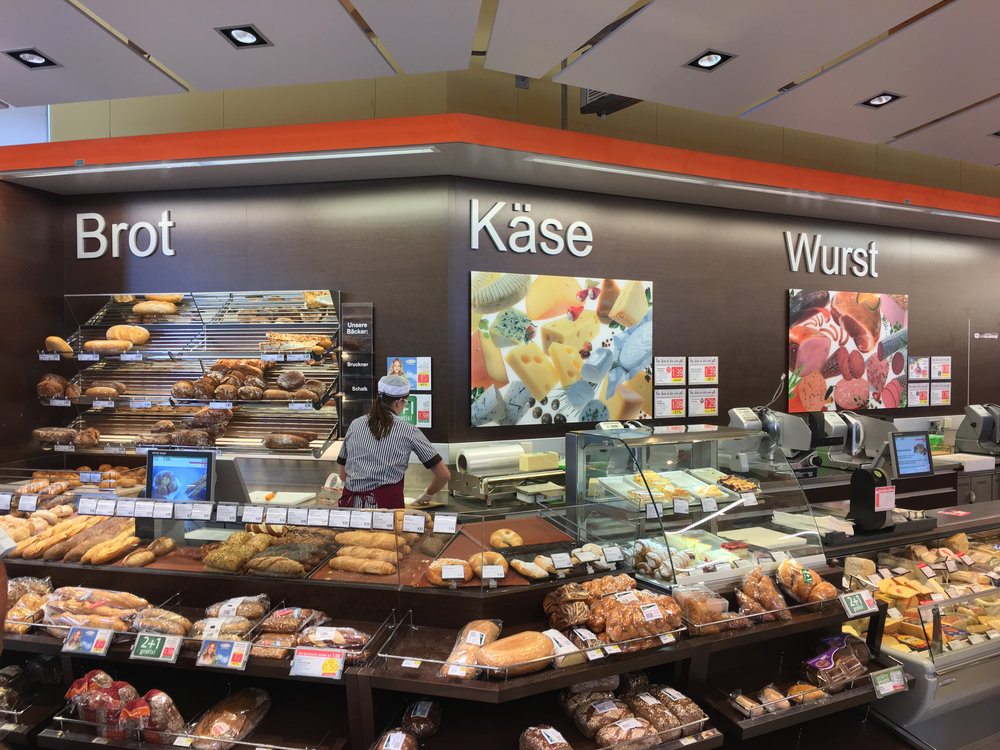 My favorite section of the grocery store, Langenlois, Austria