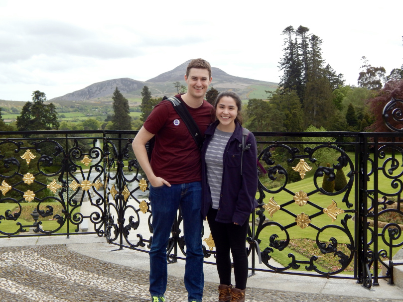 At the Powerscourt Estate