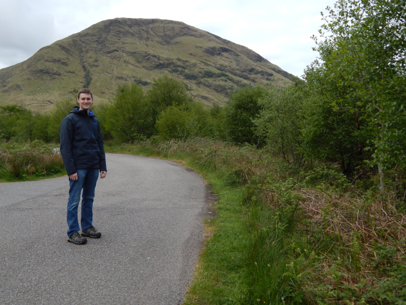 Wes on the Scottish Moors