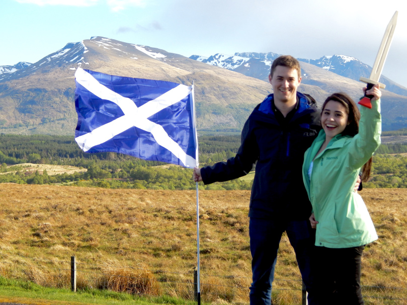 The Scottish Highlands!