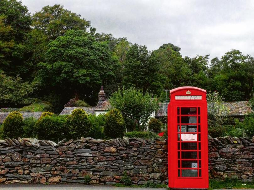 Grasmere Phone Booth