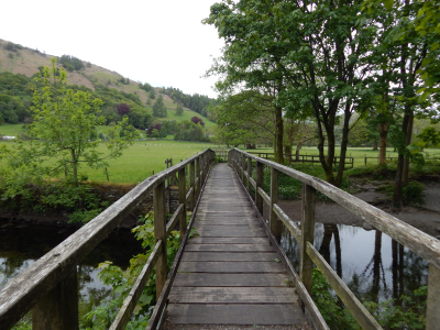 Wooden Bridge in Grasmere