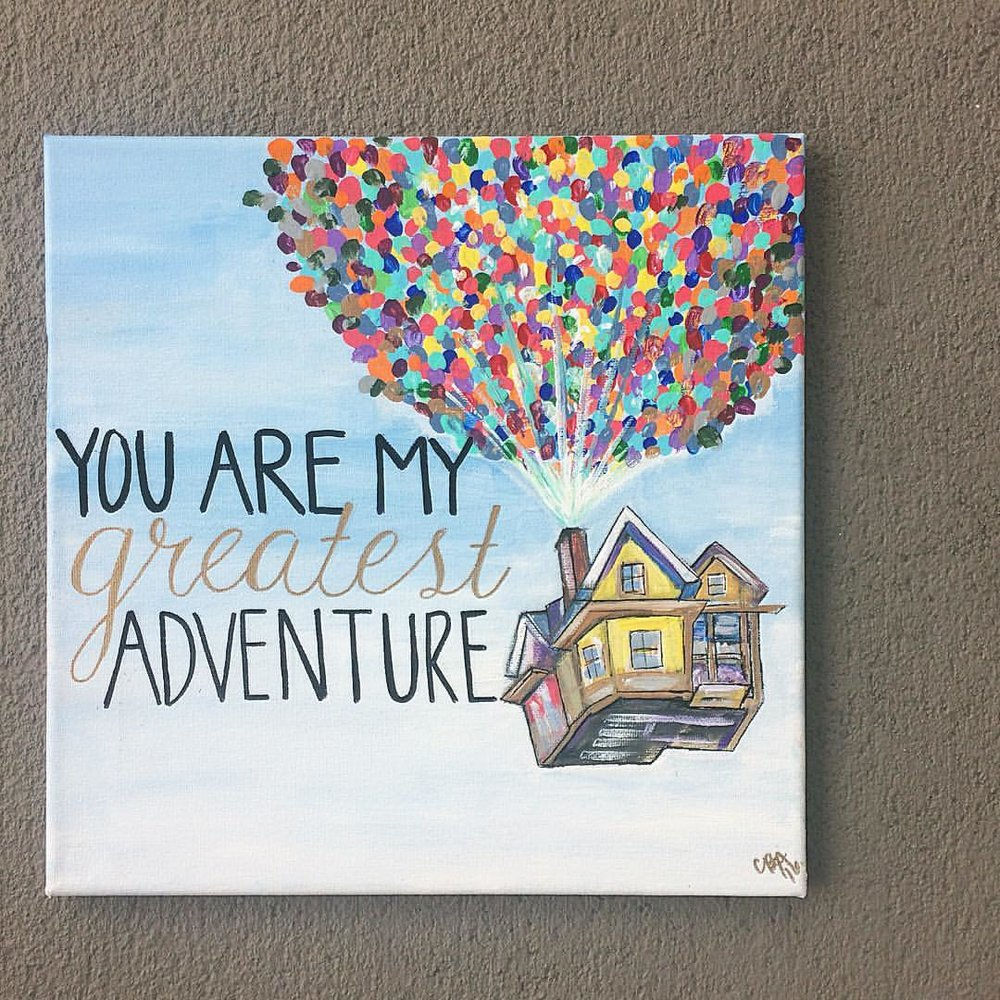 Up painting