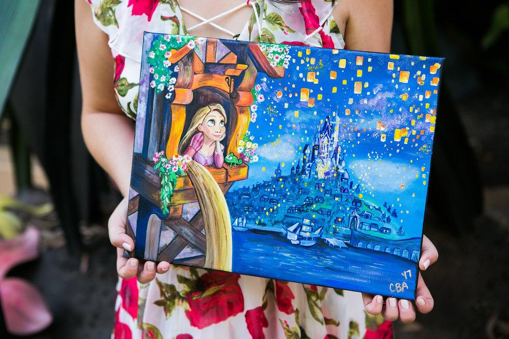 Disney fan art by me (Catie Bee Art)