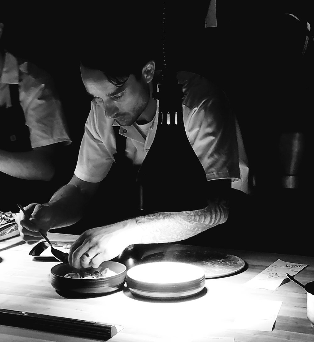 Before Opening Bardo,Chef Michael Nollworked in Chicagoat Moto, Butter, Schwa& Sous Rising. -
