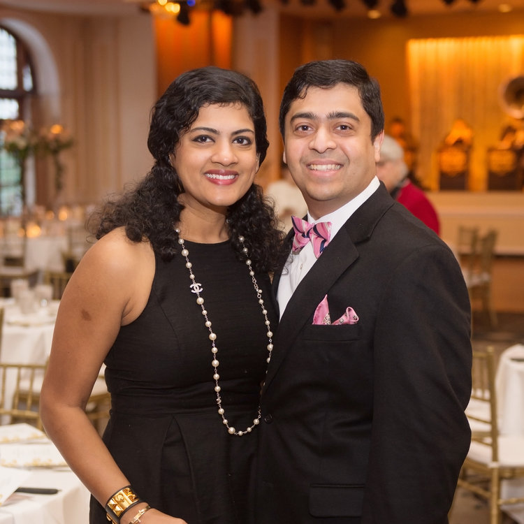 2018 Gala Co-Chairs - DRS. ISHWARIA AND VIVEK SUBBIAH