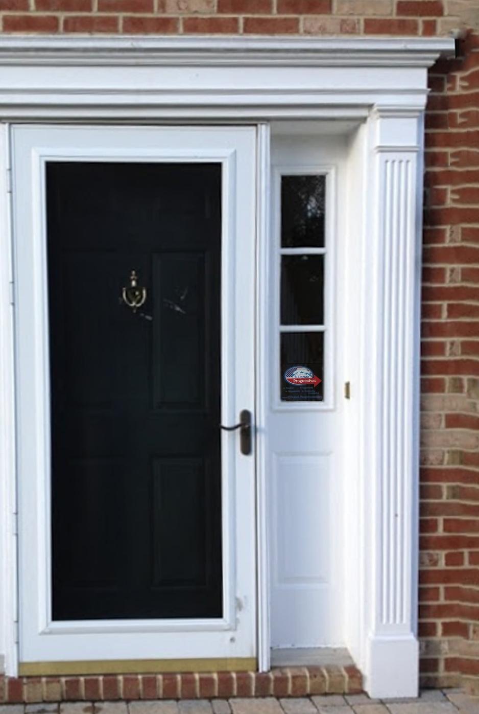 Window Cling in Door.jpg & Take Action \u2014 El Dorado Progressives