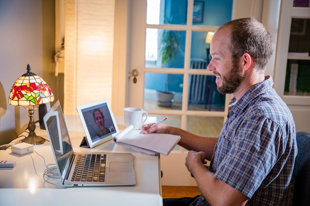 Private sessions can be conducted in-person or via Skype.