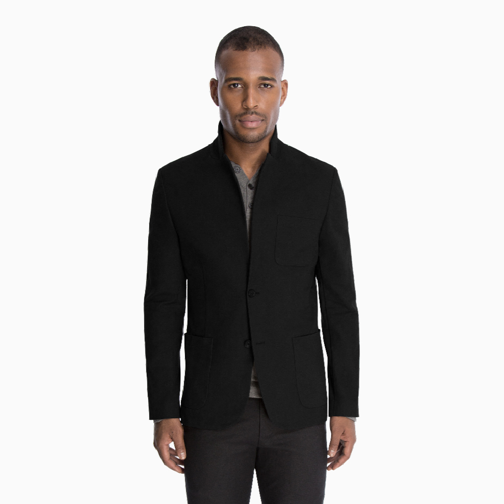 The Casual Jacket in Black