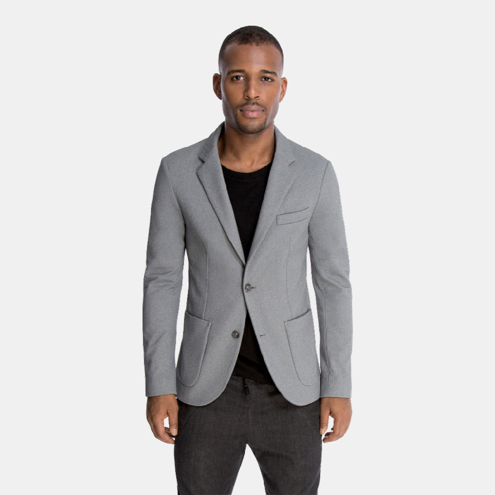 The Traveler Jacket in Grey