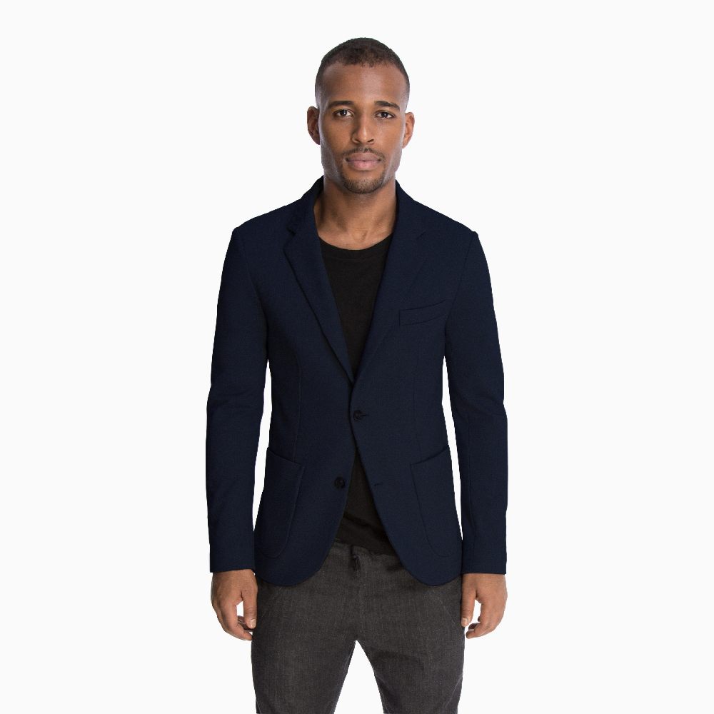 The Traveler Jacket in Navy