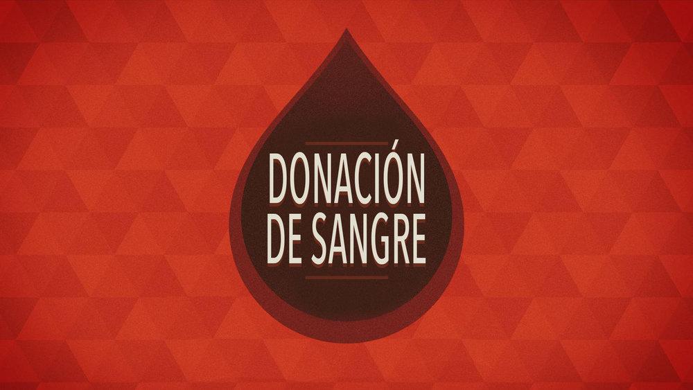Donación de sangre en la Iglesia de Cristo en Sunset.