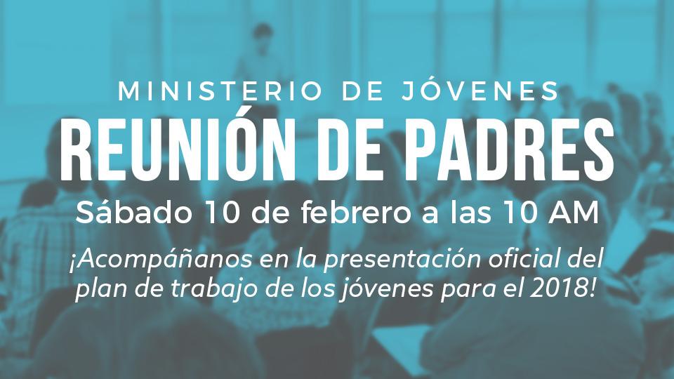 Iglesia de Cristo Reunión de Padres del Ministerio de Jóvenes
