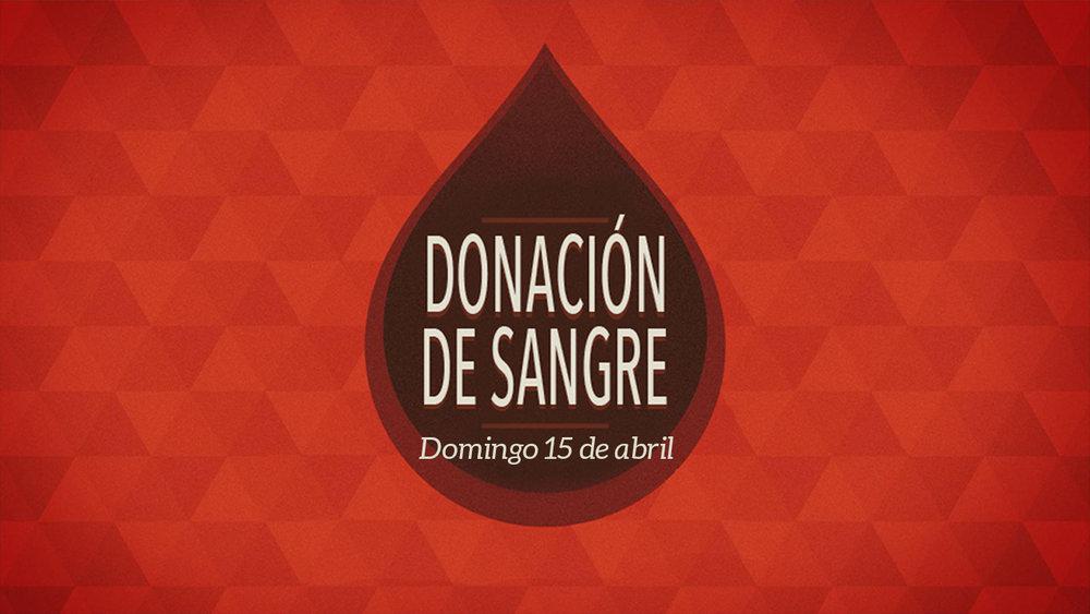 Iglesia de Cristo en Sunset Donación de sangre.