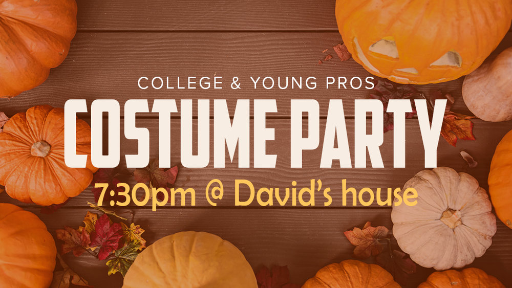 Sunset Church of Christ: College & Young Pros Costume Party
