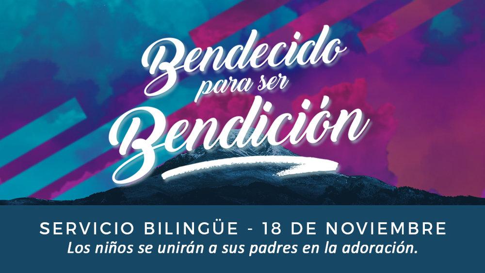 Iglesia de Cristo en Sunset: Bendecido para ser Bendición. servicio bilingüe