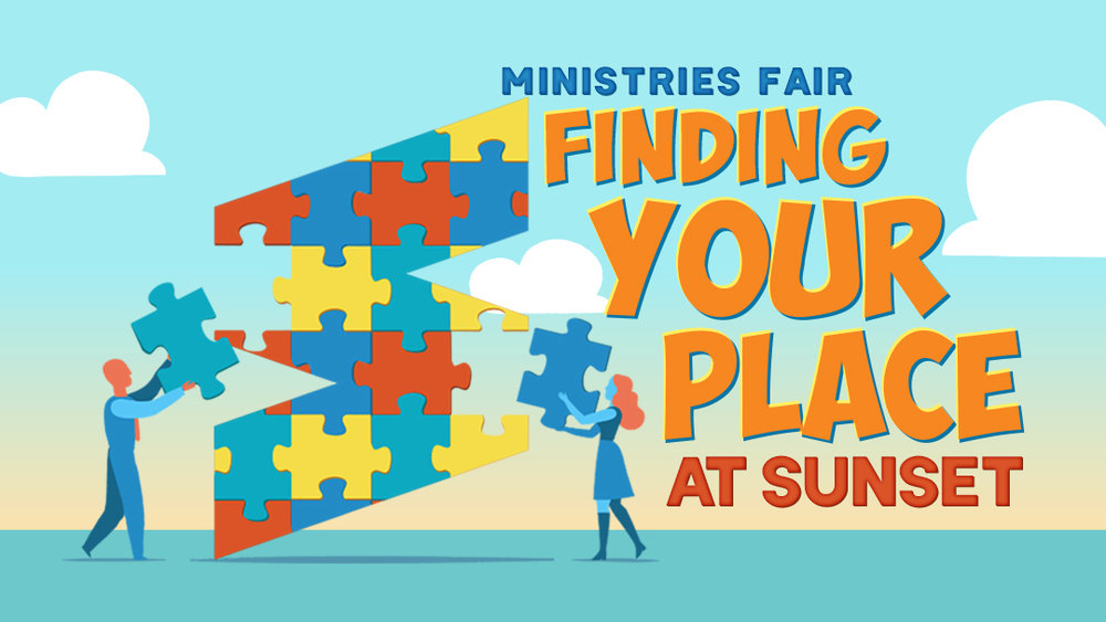 Sunset Church of Christ Ministries Fair 2019