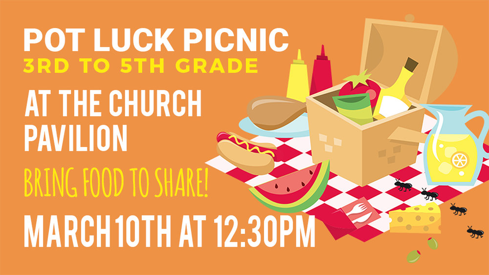 Sunset Church of Christ: 3rd to 5th Grade Picnic