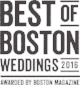 best of boston weddings 2016 logo