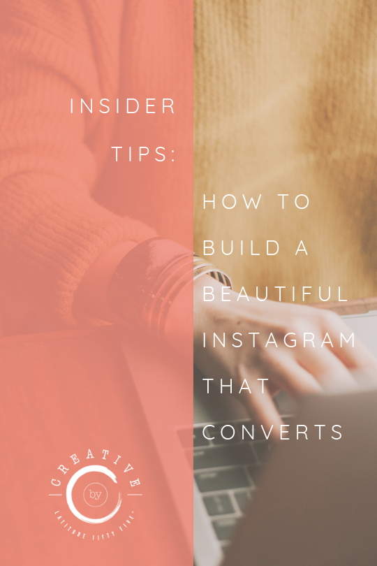 how to build a beautiful instagram that converts