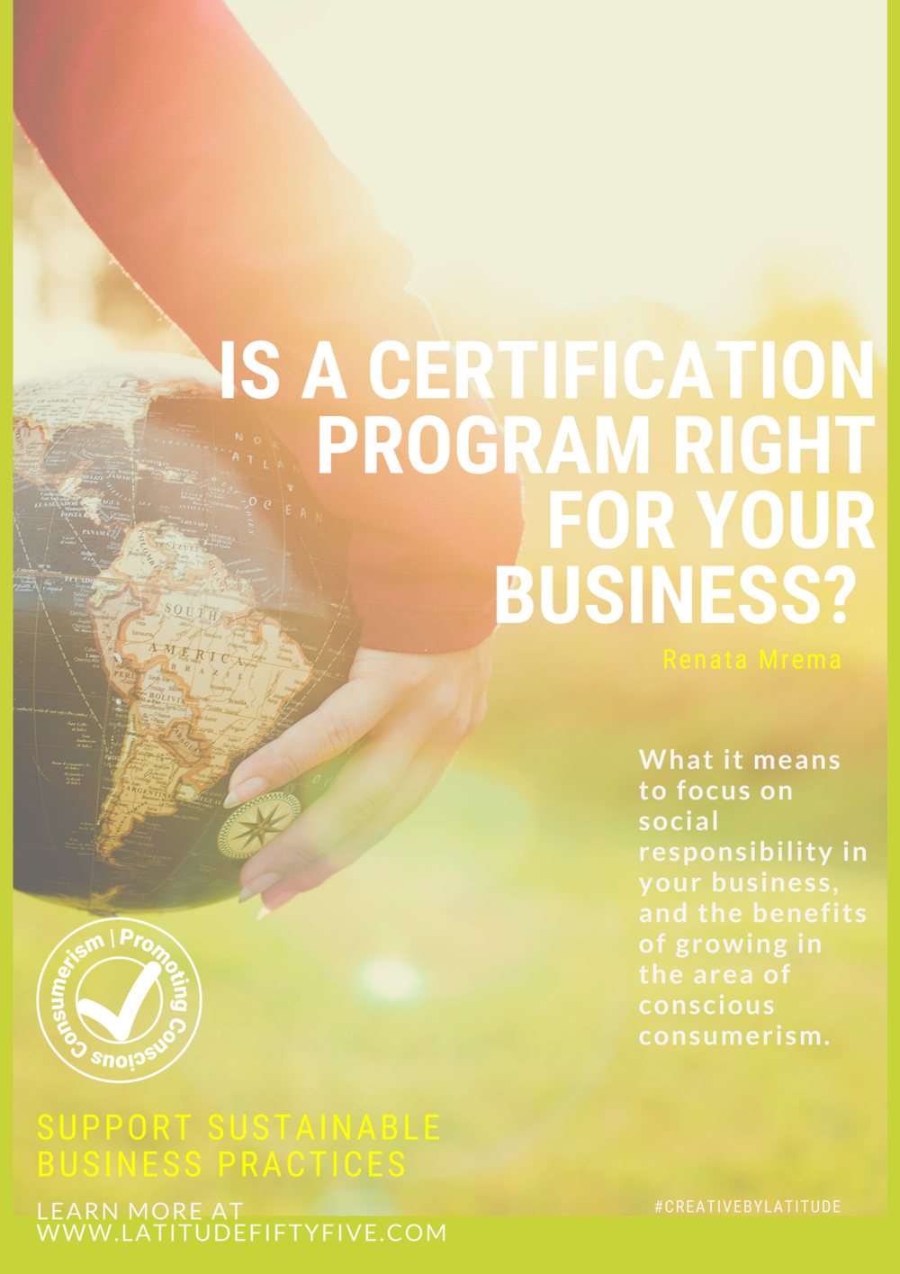 Certifications for sustainable business