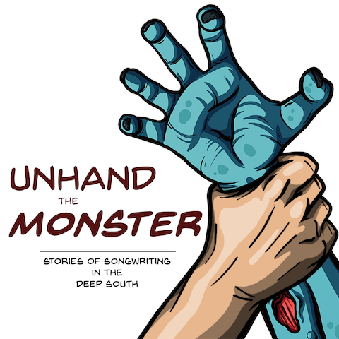 High five the monster's hand to check out Ferrill's podcast! - <——————
