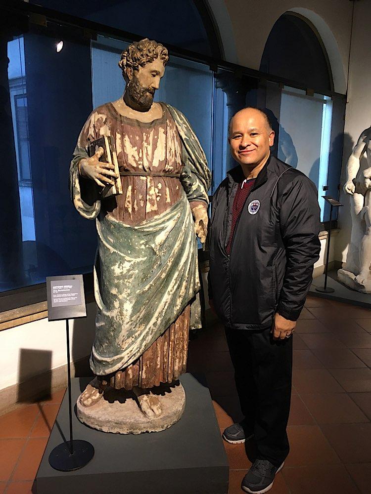 With St. Bartholomew