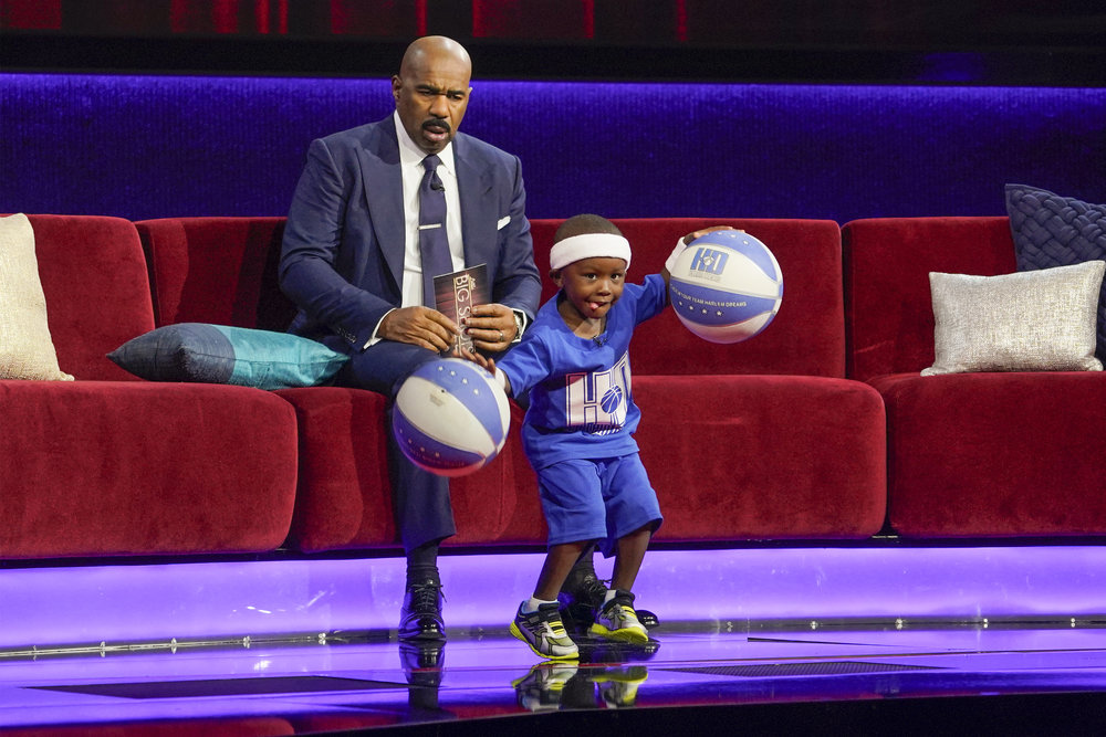 CJ is just four but he has already won the hearts of millions from his appearance last month on Little Big Shots!