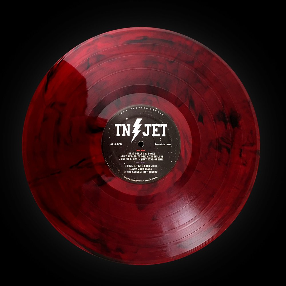 "Tennessee Jet (Self-titled) ""Red Moon"""