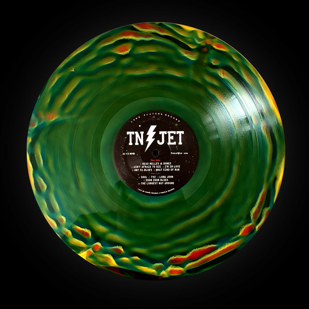 "Tennessee Jet (Self-titled) ""Scorched Earth"""