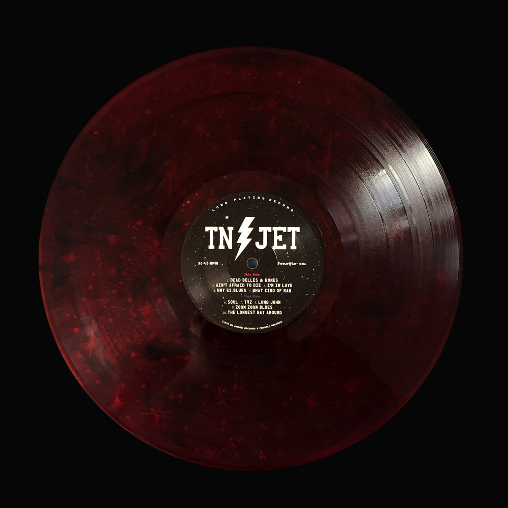 "Tennessee Jet (Self-titled) ""Red Stars / Fonofill"""
