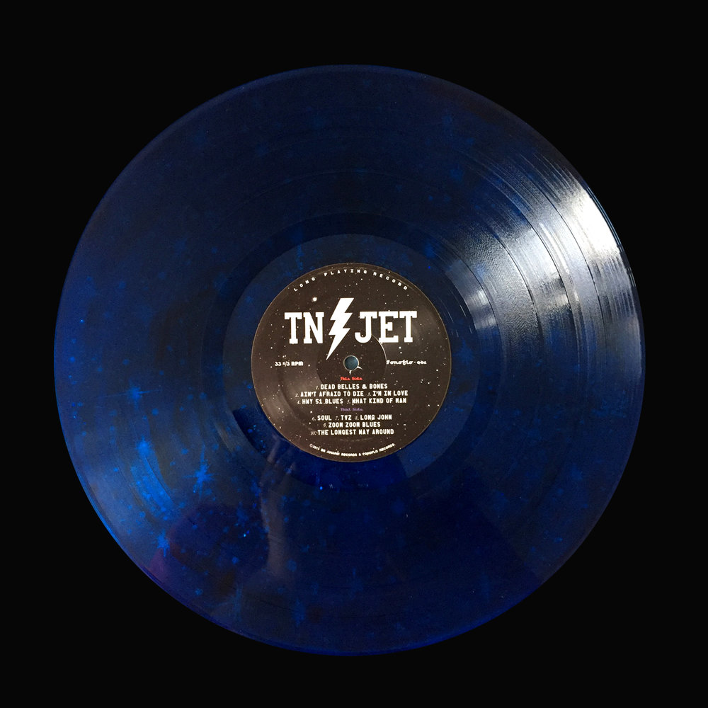 "Tennessee Jet (Self-titled) ""Blue Stars / Fonofill"""