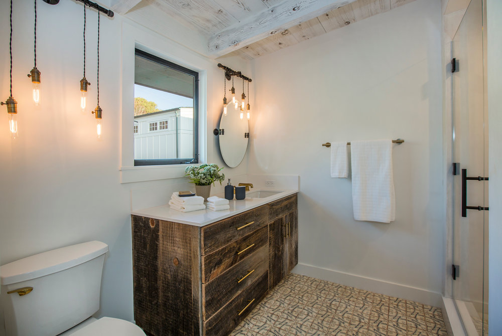 industrial bathroom renovation