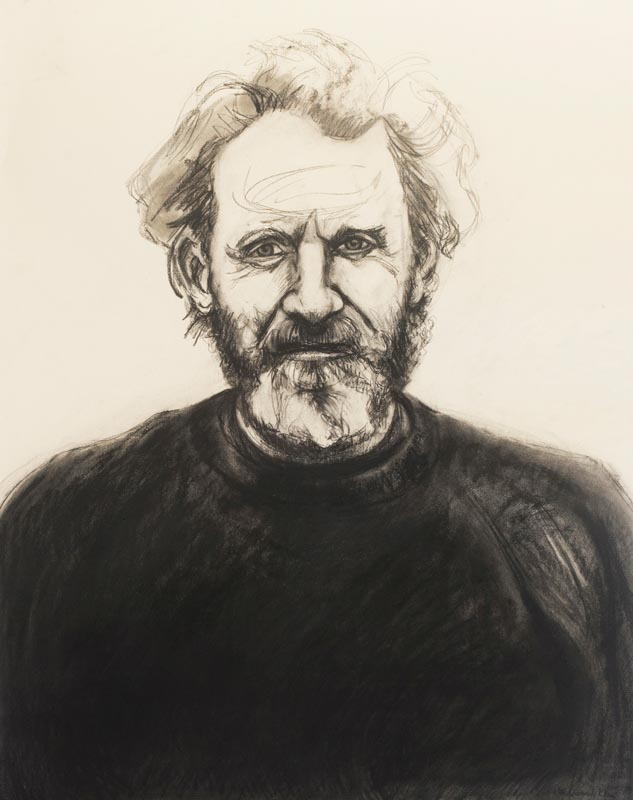 Portrait of John (red sweater)