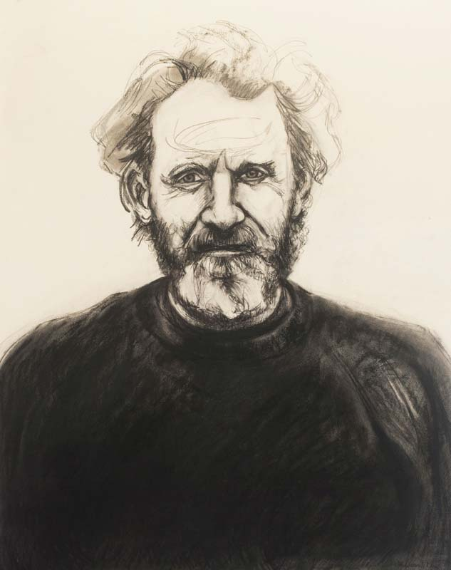 Portrait of John (red sweater)