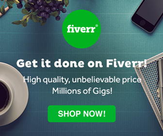 FIVERR - What would I do without Fiverr?! All my graphics, banners, and images were created on Fiverr! Best of all...it all starts at $5!