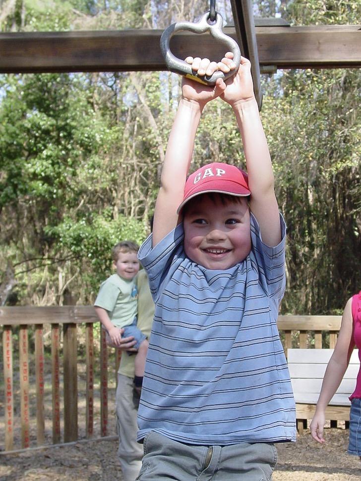 Benjamin, en 2004, quelques mois après notre décision de vivre l'école-maison.