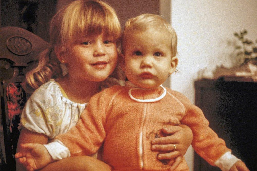Julie avec son frère Sylvain